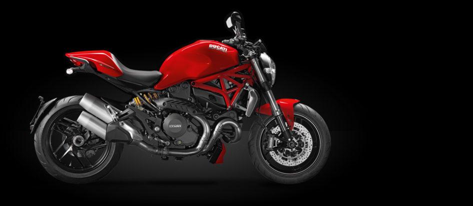 red ducati monster 1200
